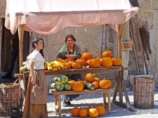 The Pedraza market, famous since the Middle Ages