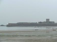 Jersey – Saint Helier's beach at low tide