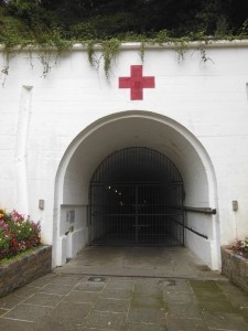 "Jersey – The ""Tunnel"" entrance, a museum about life under occupation"