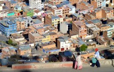 View of El Alto from above