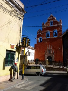 Colonial Towns Extension– The churches too can be flashy in Potosi