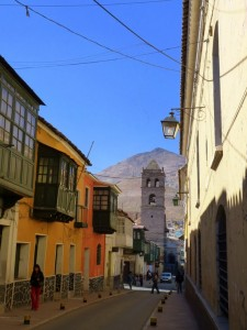 Colonial Towns Extension – The same street the other way round, with the Cerro Rico in the background