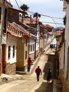 Colonial Towns Extension – A popular area of Sucre