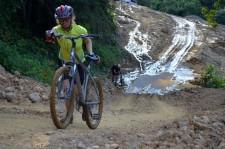 Downhill it's the jungle !