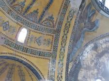 A fresco in Hagia Sophia