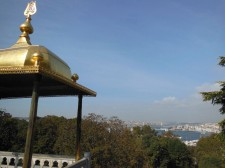 View on the Bosphorus from the Topkapı Palace