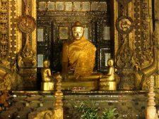 The Golden Buddha at Shwenandaw Monastery in Mandalay