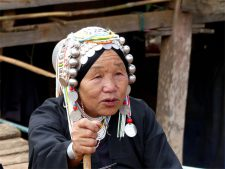 An Akha grandmother
