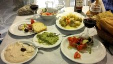 A typical Mediterranean table