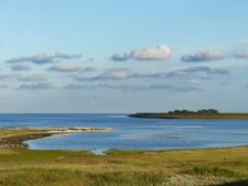 Vue depuis la pointe nord de Texel