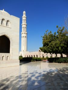 The esplanade of the Grand Mosque