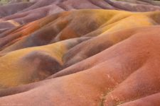 The Chamarel Coloured Earths in Mauritius