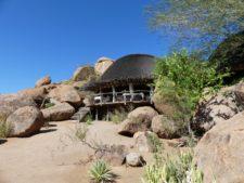 Discreet lodge in Damaraland