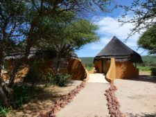 Immersive lodge in Okonjima Reserve
