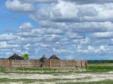 A village of the Kavango ethnic group, in the north near the eponymous river